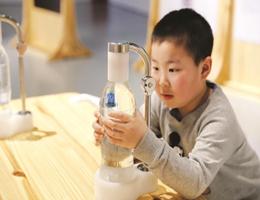 """创新,也许是向大自然""""借点子""""上海自然博物馆通过大量仿生设计案例展示,从仿生学视角重新审视自然界"""