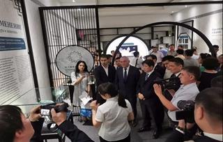 《玉成其美—中国民族文化与矿物珍宝特展》在乌兹别克斯坦举办