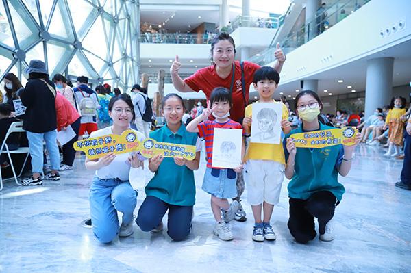 野孩子六一特别活动在上海自然博物馆成功举办