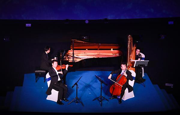 上海天文馆和上海歌剧院联袂献演星空音乐会 广袤星空下的音乐盛宴